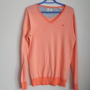Scotch and Soda V-neck striped sweater